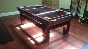 Correctly performing pool table installations, Carbondale Illinois